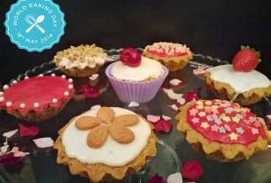 Madalenas com pepitas de chocolate - World Baking Day