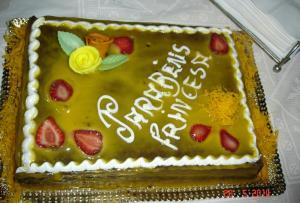 Bolo de aniversário de chcolate